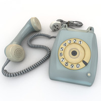 rotary dial 3d model