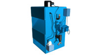 boiler water heated 3d obj