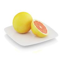 halved grapefruit 3d model