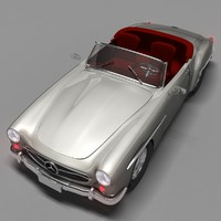 3d mercedes benz convertible model