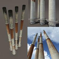 obj chimney modelled