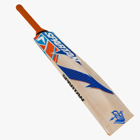 cricket bat 3d model