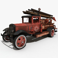 3dsmax old truck
