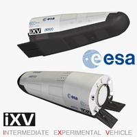 ixv intermediate experimental vehicle 3d max