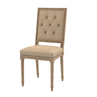 3d dialma brown chair model