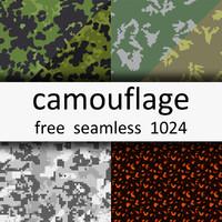 6 Free Camo Textures