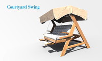 3d model swing court yard