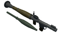 maya rocket propelled gernade r