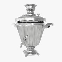3d model of samovar
