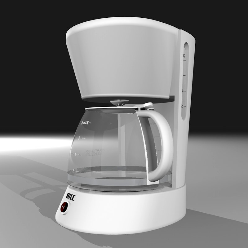 Coffee Maker 3d Model