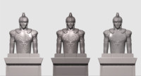 maya emperor statue augustus