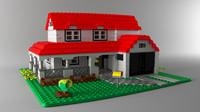 brick house 3d ma