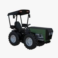 3ds max w4000 small tractor