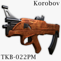 tkb-022pm assault rifle korobov max free