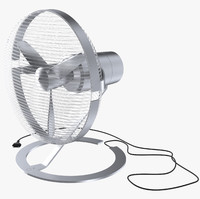 electric fan 3d max