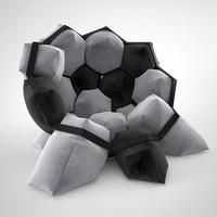 max quartz armchair