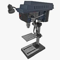 3d model drill press