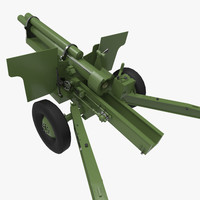 howitzer 3d model
