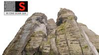 3dsmax mountain rock