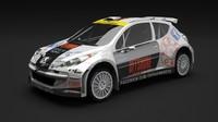 peugeot 207 s2000 wrc rally max