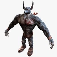 gen wolf 3d model