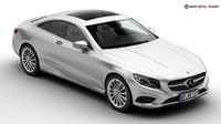 Mercedes S Class Coupe 2015 2 Headlight Versions