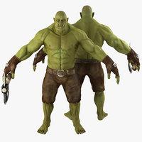green orc model