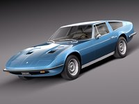 1973 maserati indy 3d 3ds