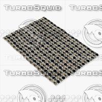 boconcept rombe rug 106071007650 3ds
