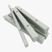 max concrete girders