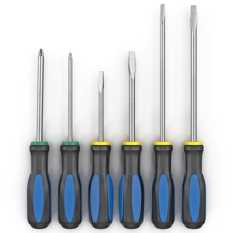 6 piece screwdriver set max. Black Bedroom Furniture Sets. Home Design Ideas