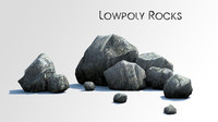 3ds max rock