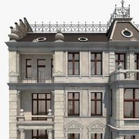 berlin elssholzstrasse residence 3d dxf