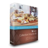 3D Food III - CGAxis Volume 56 C4D