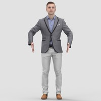 3ds max human pose