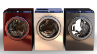 washing machine 3d x