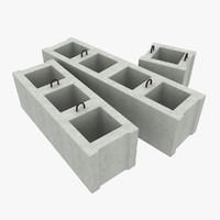 3d concrete blocks 1