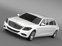 Mercedes Maybach Pullman S 600  VV222 2016