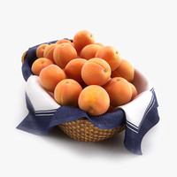 Basket of Apricots HQ