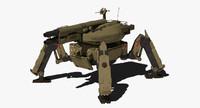 3ds spider tank