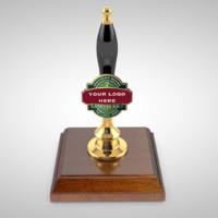 beer pump 3d model