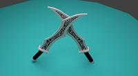 free blade katarina 3d model