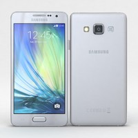 samsung galaxy a3 duos 3d model
