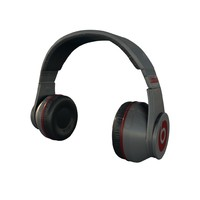 headphones maps 3d model