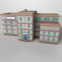 Simple Building  01