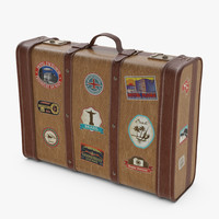 3ds max case suitcase suit