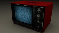 c4d old tv