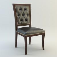 seven sedie ottocento 3d max