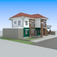 3d house-1 house