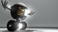 3d model good mech robot